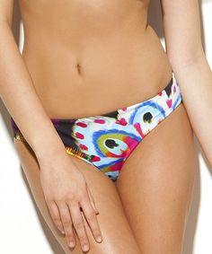 Look what I found on #zulily! Purple Flower Child Vera Bikini Bottoms #zulilyfinds