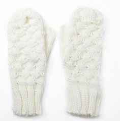 Witte handschoenen van #Lavand, 18 euro