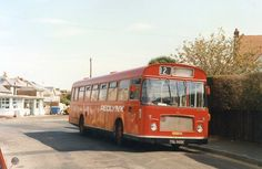 https://flic.kr/p/8bfh9y | Seaview | Redlynx Bristol RELL TDL 565K on the only stage service operated by Seaview Services. Originating back in 1922, the route between Seaview and Ryde is along with the Seafield garage now but a memory.