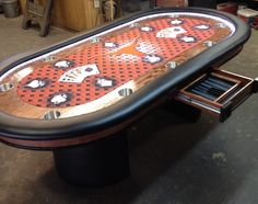 Bright LED Lights With Controller, Custom Felt, Etc. | Poker Tables With  Lights | Pinterest | Poker, Custom Poker Tables And Tables