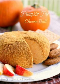 Pumpkin pie cheeseball recipe