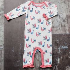 BESTAROO Baby Girl Fish Coverall