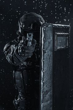 Buy police officer with ballistic shield by Getmilitaryphotos on PhotoDune. Spec ops police officer SWAT with ballistic shield Military Gear, Military Police, Military Weapons, Swat Police, Police Officer, Airsoft, Military Special Forces, Army Wallpaper, Future Soldier