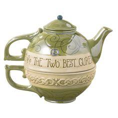 "Grasslands Road Celtic 22-Ounce "" A Good Laugh.."" Tea For One Teacup And Teapot"