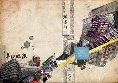 collage illustration - Buscar con Google