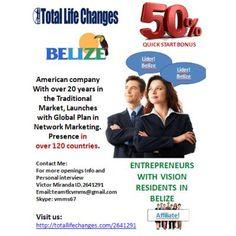 Residents seek Women and Men Entrepreneurs in Belize  http://www.anunico.bz/