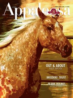 March 2013's issue of the Appaloosa Journal featured art by teenage Shelby Meyer of her 4-year-old Appaloosa mare, which she and her family had rescued.