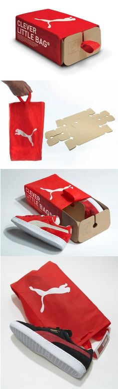 Puma shoe box/bag