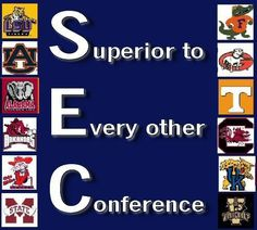 Congratulations Auburn on winning the SEC, the only real conference in the NCAA. Unfortunately the National Championship will be between two teams that don't play the same schedule week in and week out.