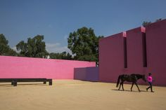 Cuadra San Cristobal. a residence and horse farm designed by Barragan. Finding Mexico City, and Luis Barragán, Again - NYTimes.com