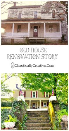 This old house was brought back to life. Now we are dressing her up little by little by little...