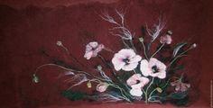 "Panel ""Flowers"" - Fair Masters - handmade, handmade"