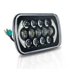 """2x Projector LED 5X7"""" LED Headlight Replacement for Jeep Cherokee XJ Truck"""