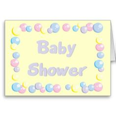 baby shower greeting card   Baby Shower Invitation - Customizable Greeting Card from Zazzle.com