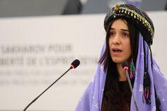 La jeune Yézidie a été enlevée, comme des milliers de femmes de sa communauté, par le groupe terroriste qui a fait d'elle une esclave sexuelle...