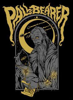 Pallbearer shirt/print design on Behance