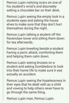 :) love remus lupin always have always will