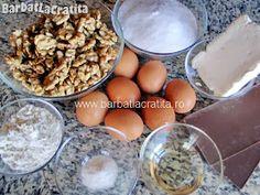 Prajitura cu nuca si crema caramel Ingrediente Creme Caramel, Breakfast, Food, Morning Coffee, Creme Brulee, Essen, Meals, Yemek, Eten