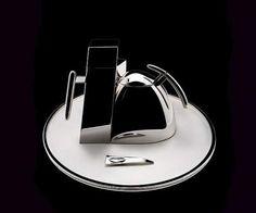 Ekler tea service for Alessi Minimalist Design, Modern Design, Ceramic Tableware, Kitchenware, Silver Table, Home Tools, Alessi, Tea Service, Wabi Sabi