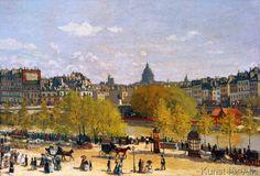 Claude Monet - Le Quai du Louvre