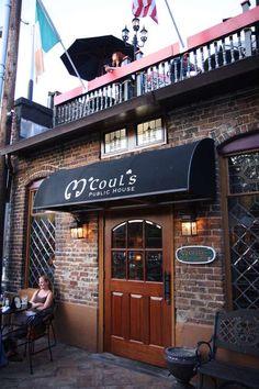 M'couls Greensboro, NC. A lovely Irish Pub.