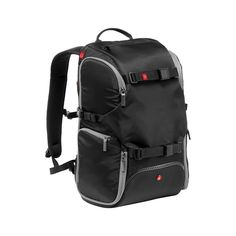 Manfrotto MB MA-BP-TRV Advanced Travel Backpack - Black: Amazon.co.uk: Camera & Photo