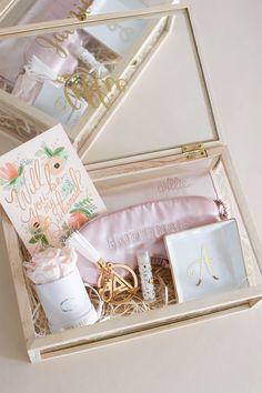 How To Ask Your Bridesmaids, Bridesmaid Proposal Box, Bridesmaid Gift Ideas