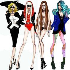The Lady Gaga Eras - by Armand Mehidri