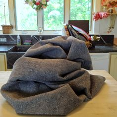 U-Haul Furniture Pads -dried work great for guinea pig cages & habitats for the fleece bedding system. Make your own fleece flippers! Under $8 for each blanket. Learn how to prep them on this site.