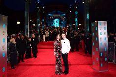 (Ian West/PA Wire) Baftas 2017 Red Carpet: London England Feb 12-Eddie Redmayne and Hannah Bagshawe attending the EE British Academy Film Awards held at the Royal Albert Hall, Kensington Gore, Kensington, London.
