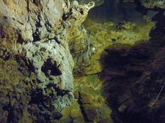 """""""Grotte di Falvaterra e Rio Obaco""""  All'interno del monumento  è possibile visitare le bellissime Grotte di Falvaterra oggetto di una continua valorizzazione"""