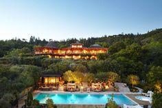 7) Auberge - Napa Valley, no estado americano da Califórnia,