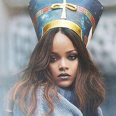 like for more : iconsbadgalriri Rihanna Vogue, Captain Hat, Crown, Hats, Fashion, Moda, Corona, Hat, Fashion Styles