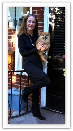 """Suzanne from Texas, in the Etcetera """"Nightside"""" dress.  www.etcetera.com"""