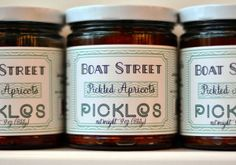 Made in Seattle: Gourmet pickles, including apricot, figs and plum