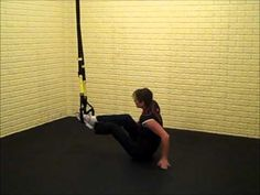 ▶ TRX Abs Workout - Side Plank Oblique Dip - YouTube