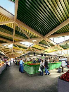 Halle de marché de Cachan - croixmariebourdon architectures