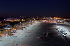 Night Flight - Frankfurt Airport Various Aircraft