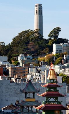 Coit Tower, San Francisco.I want to go see this place one day. Please check out my website Thanks.  www.photopix.co.nz