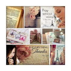 """""""1 THESSALONIANS 5 - Through The Bible"""" by nonniekiss ❤ liked on Polyvore featuring art"""