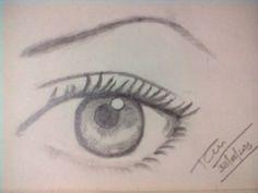 3D Eye sketch