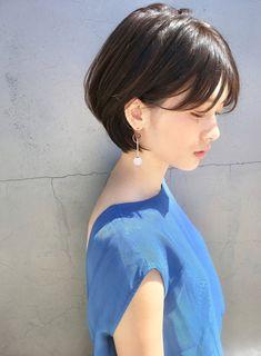 Korean Short Haircut, Asian Short Hair, Asian Hair, Short Hair Syles, Short Hair Cuts, Short Hairstyles For Women, Pretty Hairstyles, Hidden Hair Color, Gorgeous Hair