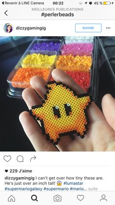15 Best Fun Perler Beads Designs Easy To Get Started Hama Beads Design, Diy Perler Beads, Perler Bead Art, Pearler Beads, Hama Beads Mario, Pixel Beads, Fuse Beads, Pearler Bead Patterns, Perler Patterns