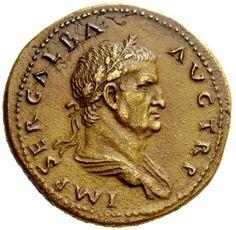 Extremely Rare Coin of the Roman Emperor Galba