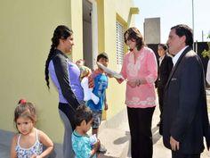 Lucía Corpacci entregó cuatro nuevas viviendas del Programa Infrabras, que lleva adelante la Secretaría de la Vivienda y Desarrollo Urbano