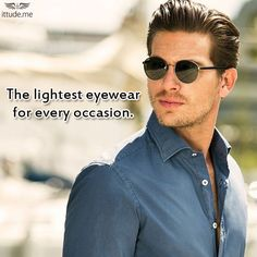 Add our exquisite eyewear collection by Mont Blanc for a glam look! https://www.ittude.me/shop/men/eye-wear.html?manufacturer=299