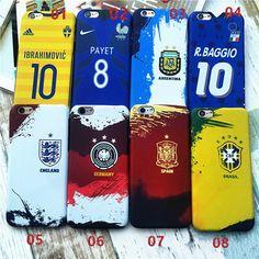 Adidas, nike Brasilien,Deutschland und Argentina Football national team Schutz case für Apple6/6s/6plus/7/7plus