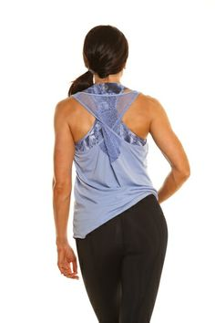 THE ABBY TWISTED TANK - Designer Sports Bras & Activewear for Women | BodyRockSport