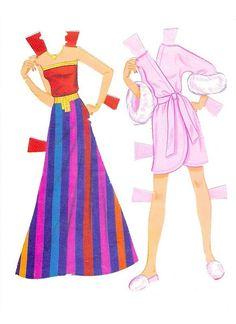 Barbie Paper Dolls - Crystal