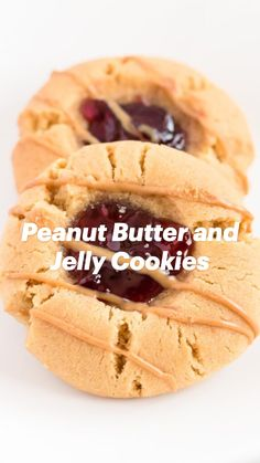 Cookie Desserts, Just Desserts, Cookie Recipes, Delicious Desserts, Yummy Food, Crinkle Cookies, Jelly Cookies, Peanut Recipes, Sweet Recipes
